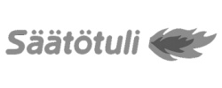 Saatotuli logo black and white