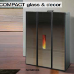 Compact glass and decor